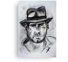 Indiana Jones, Harrison Ford Canvas Print