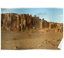 Joe Mortelliti Gallery - Petrified forest at Cape Bridgewater near Portland, on Victoria's west coast, Australia.  Poster