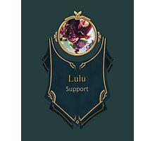 League of Legends - Lulu Banner (Dragon Trainer) Photographic Print