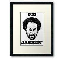 You got Jammed Framed Print