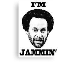 You got Jammed Canvas Print