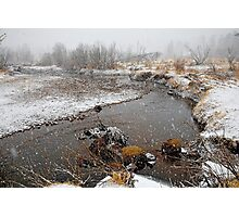 RMNP Winter Study 4  Photographic Print