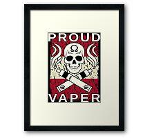 Proud Vaper | Austria Framed Print