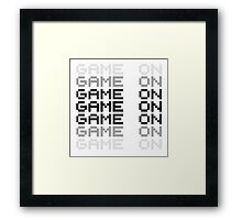 Video Game Game On PC Playstation XBox Gaming Gamers Framed Print