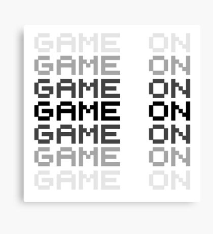 Video Game Game On PC Playstation XBox Gaming Gamers Canvas Print
