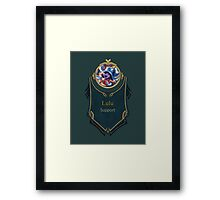 League of Legends - Lulu Banner (Pool Party) Framed Print