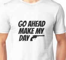Dirty Harry Quote Clint Eastwood Movie Film Badass Unisex T-Shirt
