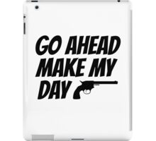 Dirty Harry Quote Clint Eastwood Movie Film Badass iPad Case/Skin