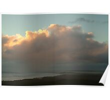 Joe Mortelliti Gallery - Hidden sunset, Discovery Bay from Cape Bridgewater near Portland, on Victoria's west coast, Australia.  Poster