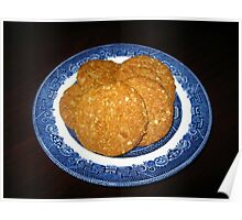 Crispy, Crunchy, Crumbly Cookies Poster