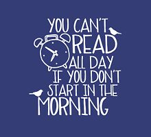 You Can't Read All Day... (Purple) Unisex T-Shirt