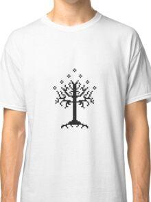 Pixel Tree of Gondor (Black) Classic T-Shirt