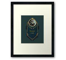 League of Legends - Rengar Banner Framed Print