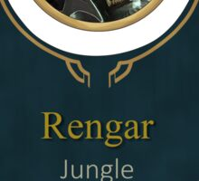 League of Legends - Rengar Banner Sticker