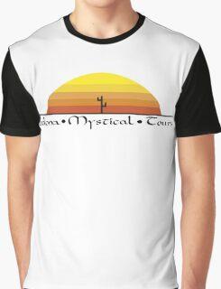 Sedona Mystical Tours Logo Graphic T-Shirt