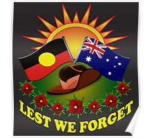 Lest We Forget Poster