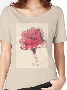 Rose of friendship Women's Relaxed Fit T-Shirt