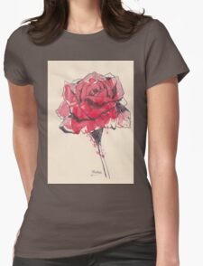 Rose of friendship Womens Fitted T-Shirt