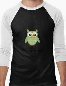 Who Owl Men's Baseball ¾ T-Shirt