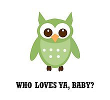 Who Owl Photographic Print