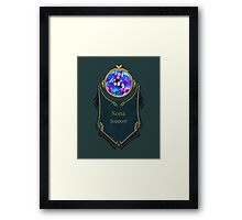 League of Legends - Sona Banner (Ethereal) Framed Print