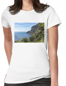 Hot Seaside Afternoon - Mediterranean Magic of Capri  Womens Fitted T-Shirt