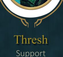 League of Legends - Thresh Banner Sticker