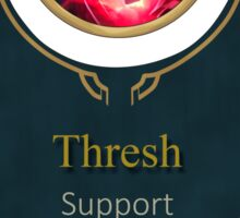 League of Legends - Thresh Banner (Bloodmoon) Sticker