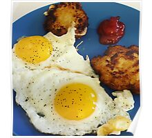 Eggs and Latkes Poster