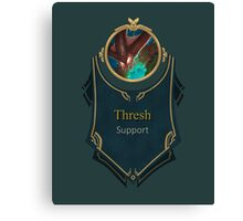League of Legends - Thresh Banner (Deep Terror) Canvas Print