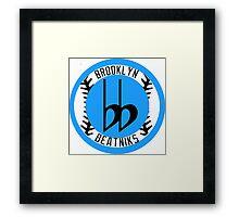 Brooklyn Beatniks Framed Print