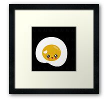 KAWAII EGG Framed Print