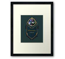 League of Legends - Blitzcrank Banner (Battle Boss) Framed Print
