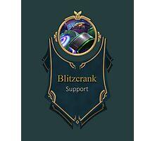 League of Legends - Blitzcrank Banner (Battle Boss) Photographic Print