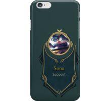 League of Legends - Sona Banner iPhone Case/Skin