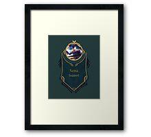 League of Legends - Sona Banner Framed Print