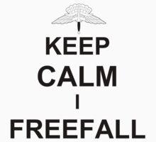 Keep Calm I Freefall One Piece - Short Sleeve