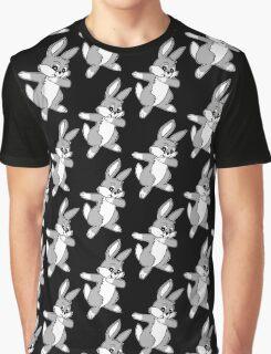 Dabbin Easter Bunny Graphic T-Shirt