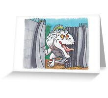 Indominus Escape Greeting Card