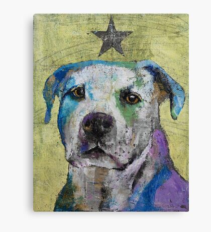 Pit Bull Terrier Canvas Print