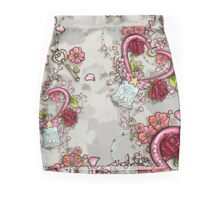 ChibiMoon Pattern Mini Skirt