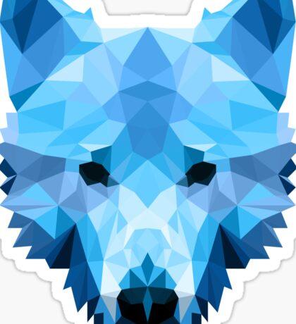 Ice Wolf  Sticker
