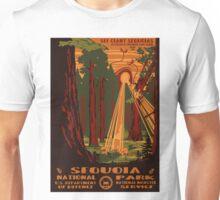 Sequoia alien invasion national park poster Unisex T-Shirt