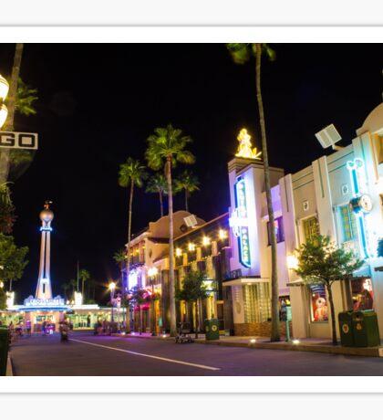 Hollywood Boulevard Sticker