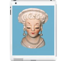 Head Vase iPad Case/Skin