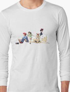 Ghibli Girls Long Sleeve T-Shirt
