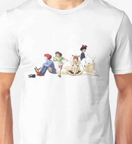 Ghibli Girls Unisex T-Shirt