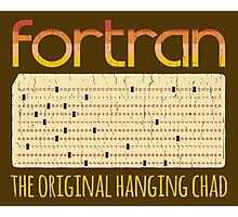 Fortran - The Original Hanging Chad Photographic Print