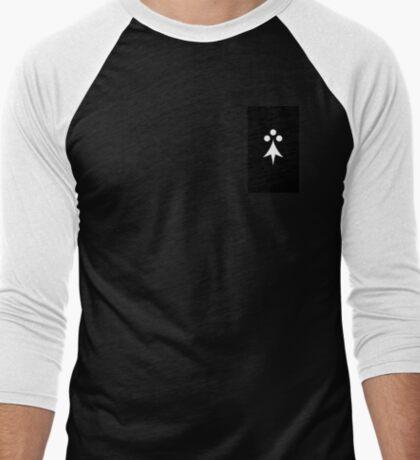 Ermines Men's Baseball ¾ T-Shirt