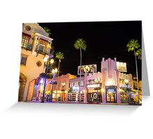 Empty Streets of Hollywood Greeting Card